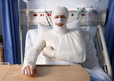 bandage man
